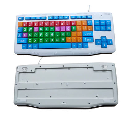 Children Color Keyboard with oversize keys for children under school age K-700