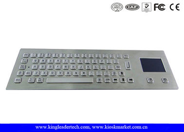 Industrial Keyboard With Touchpad And 64 Keys IP65 Rated For Kiosk
